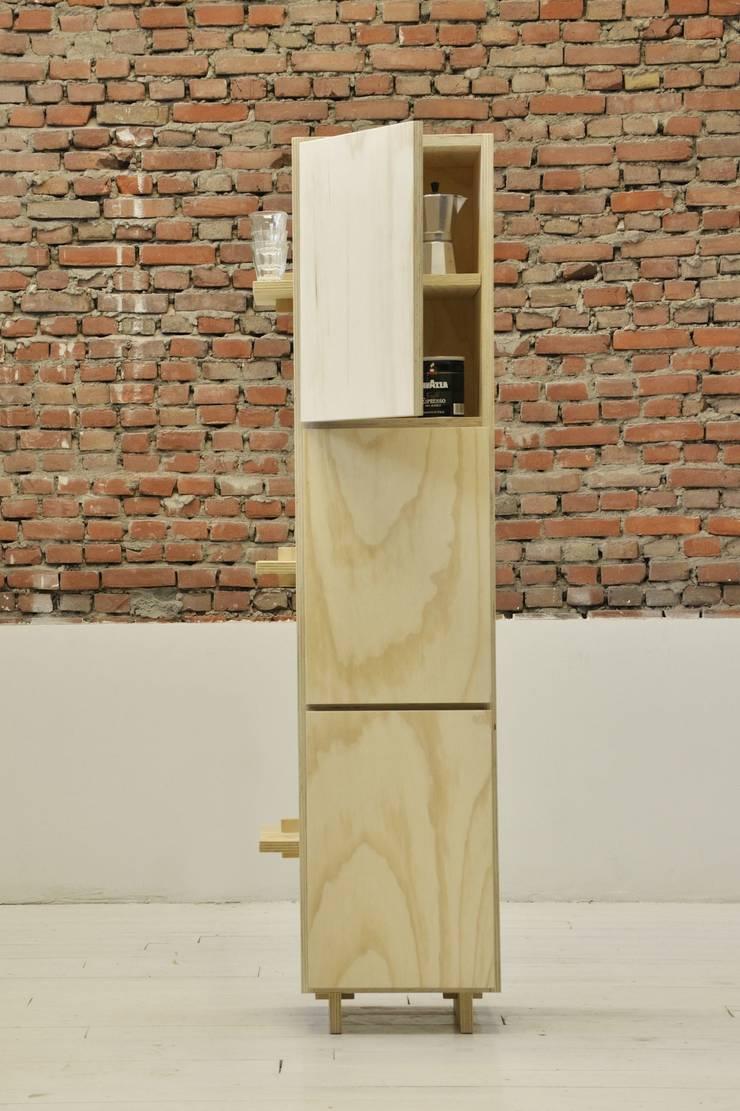 Two-in-One:  Keuken door BINDD