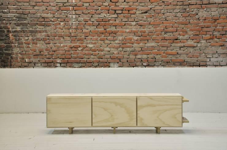 Two-in-One:  Woonkamer door BINDD