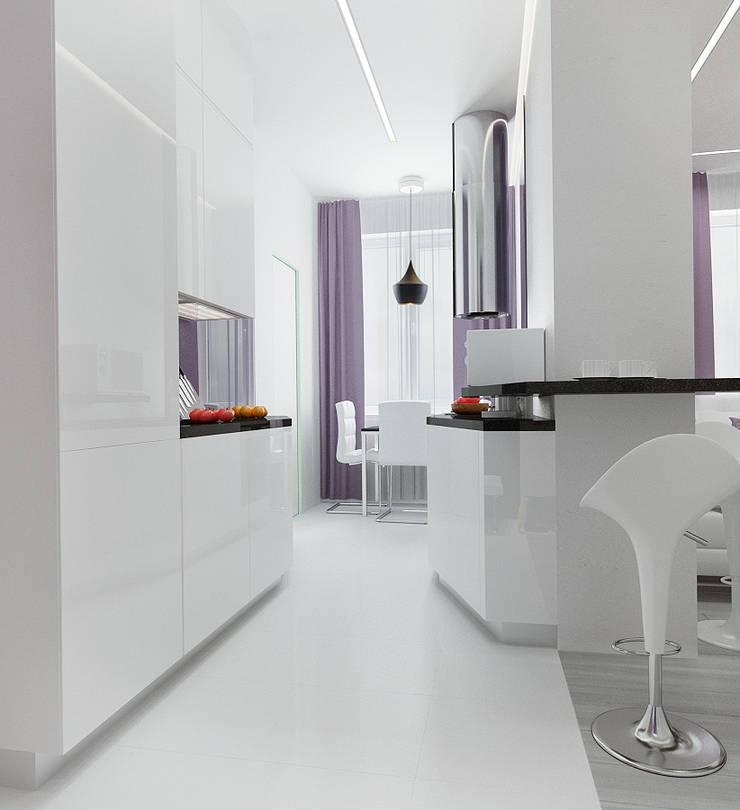 2-х комнатная квартира в Москве : Кухни в . Автор – Rustem Urazmetov
