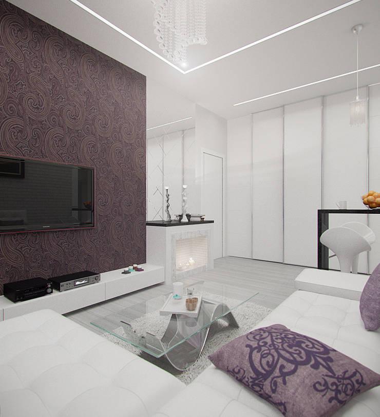 2-х комнатная квартира в Москве : Коридор и прихожая в . Автор – Rustem Urazmetov, Скандинавский