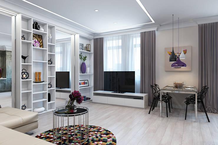 Living room by Rustem Urazmetov, Minimalist