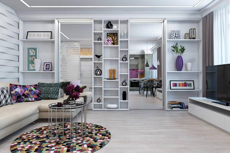 Salas / recibidores de estilo  por Rustem Urazmetov, Minimalista