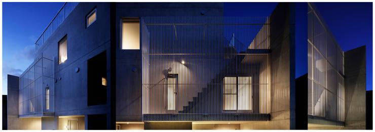 kenji_masunaga_1_001: 益永研司写真事務所が手掛けた家です。,モダン