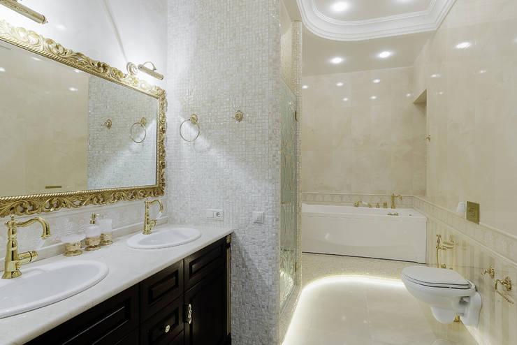 Projekty,  Łazienka zaprojektowane przez Креазон
