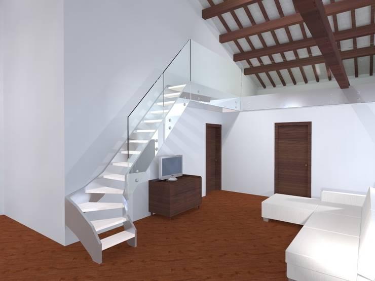 Progetto:  in stile  di Anna Leone Architetto Home Stager