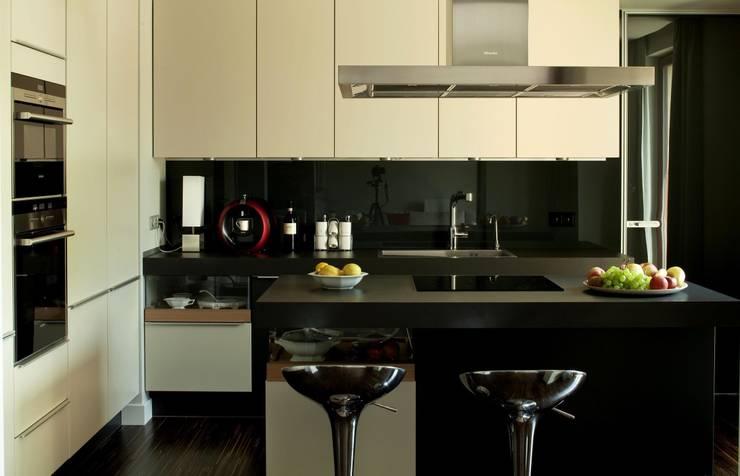 Apartament Wrocław: styl , w kategorii Kuchnia zaprojektowany przez ASA Autorskie Studio Architektury,