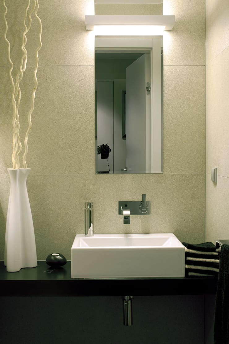 Apartament Wrocław: styl , w kategorii Łazienka zaprojektowany przez ASA Autorskie Studio Architektury,