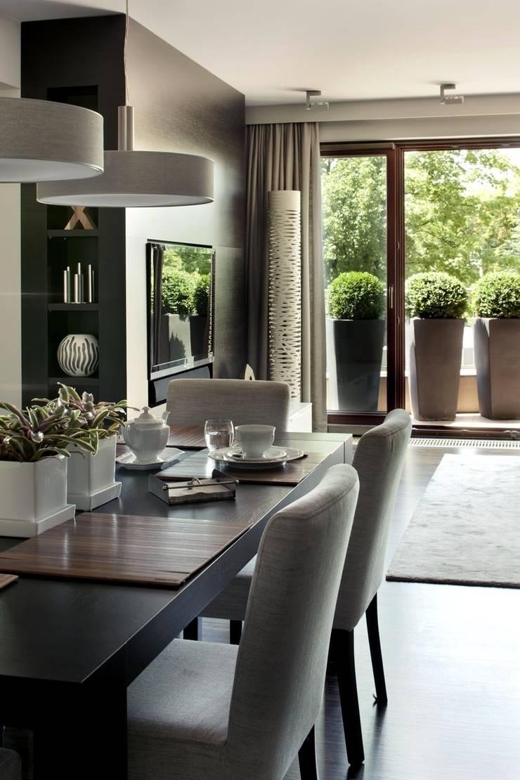 Apartament Wrocław: styl , w kategorii Salon zaprojektowany przez ASA Autorskie Studio Architektury,