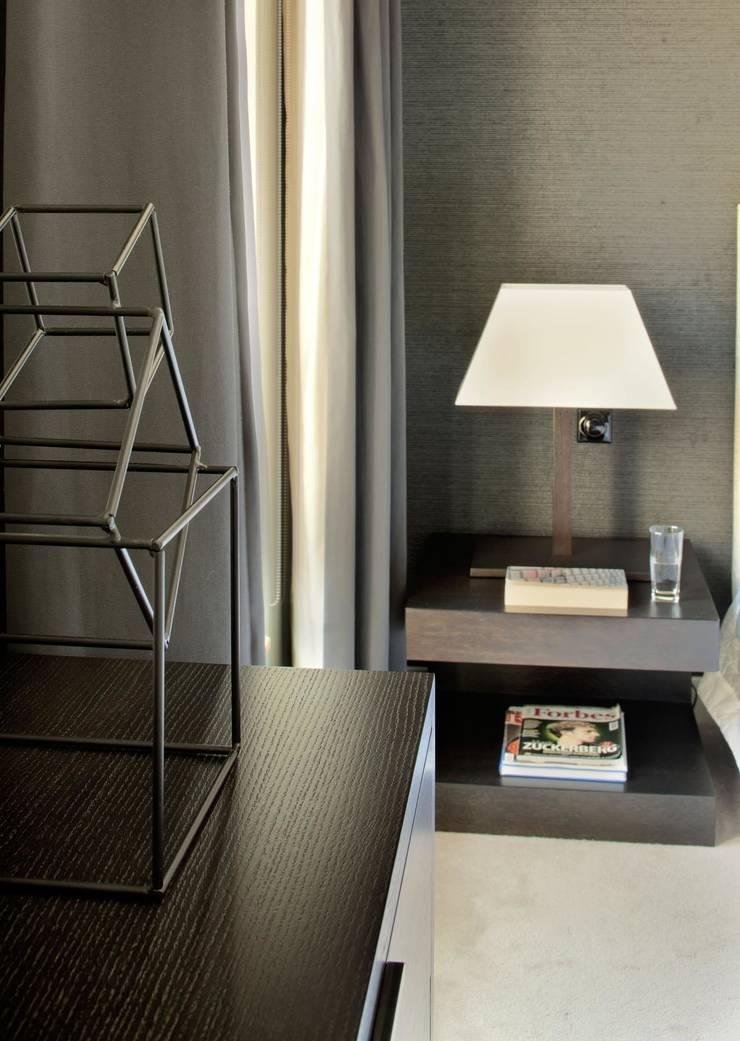 Apartament Wrocław: styl , w kategorii Sypialnia zaprojektowany przez ASA Autorskie Studio Architektury,