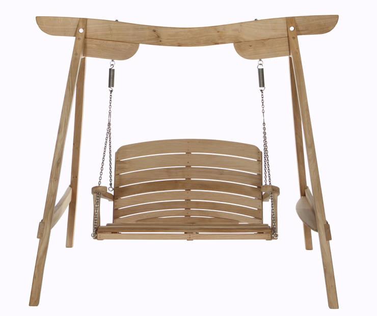 Kyokusen Swing Seat:  Garden  by Sitting Spiritually Ltd