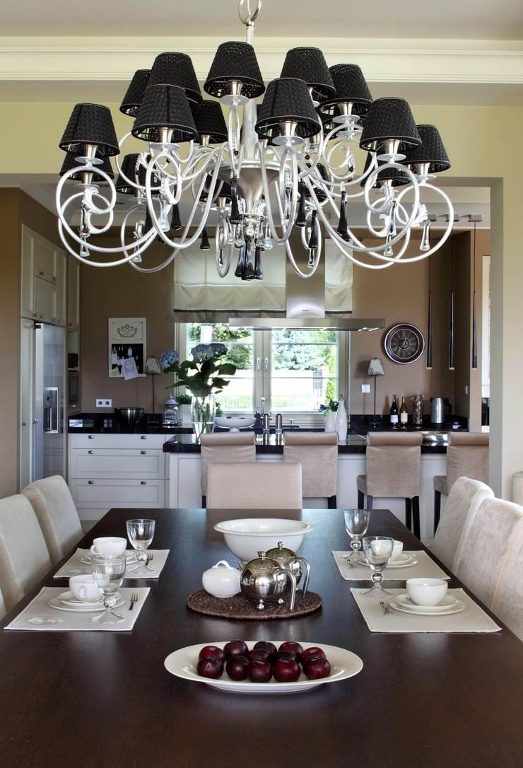 Dining room by ASA Autorskie Studio Architektury