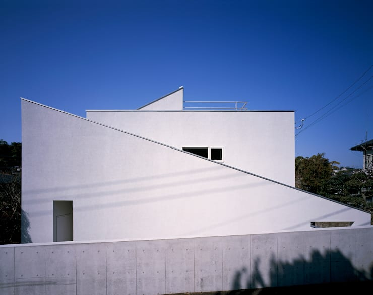 外観: 久保田章敬建築研究所が手掛けた家です。