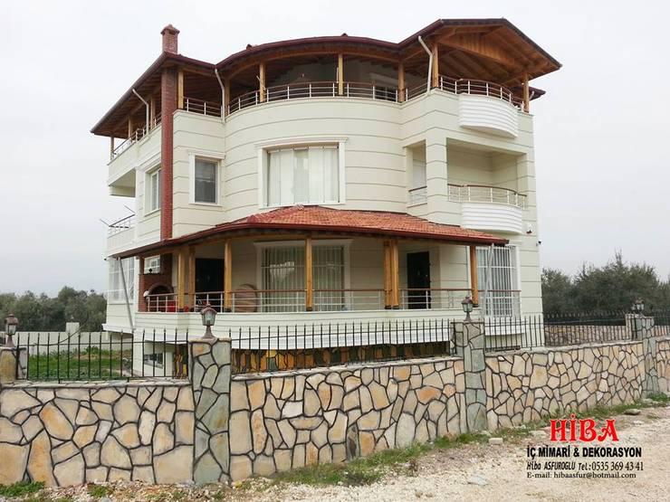 Hiba iç mimari ve dekorasyon – Ahmet Bilgin Evi: modern tarz Evler