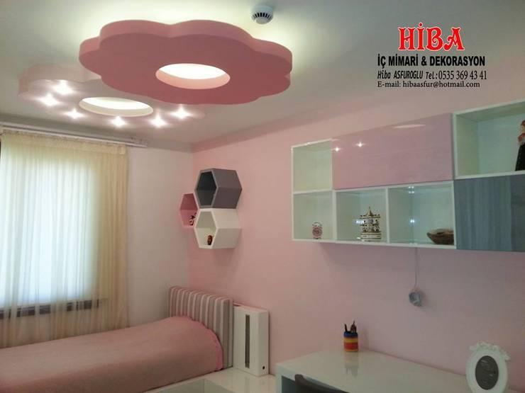 Hiba iç mimarik – Dr. Mustafa Ödemiş Villası:  tarz Çocuk Odası