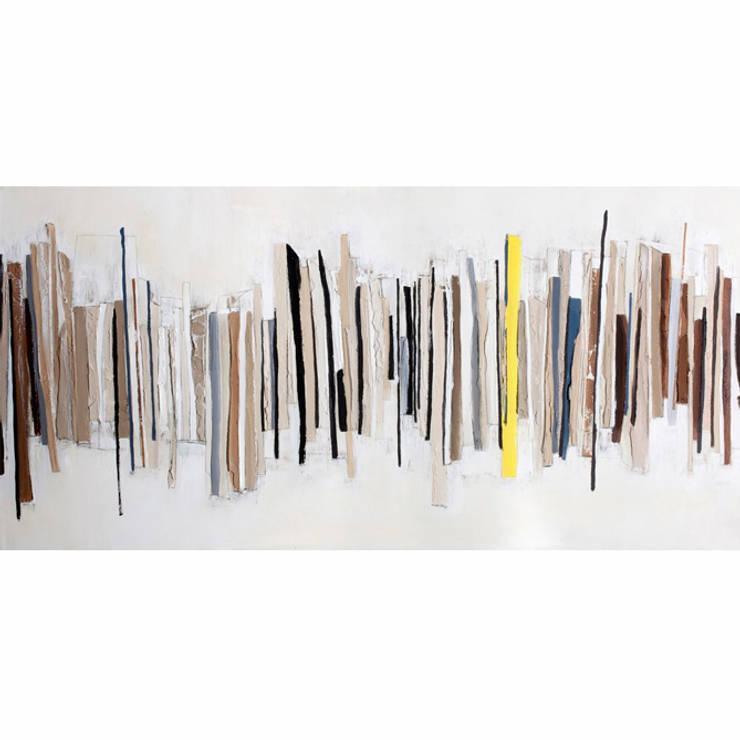 Malerifabrikken: styl , w kategorii Salon zaprojektowany przez Mootic Design Store
