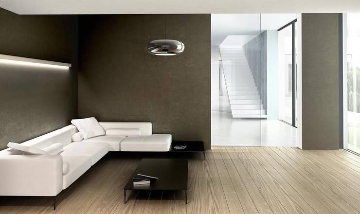 Dom minimalistyczny w okolicy Wrocławia: styl , w kategorii Domowe biuro i gabinet zaprojektowany przez ASA Autorskie Studio Architektury