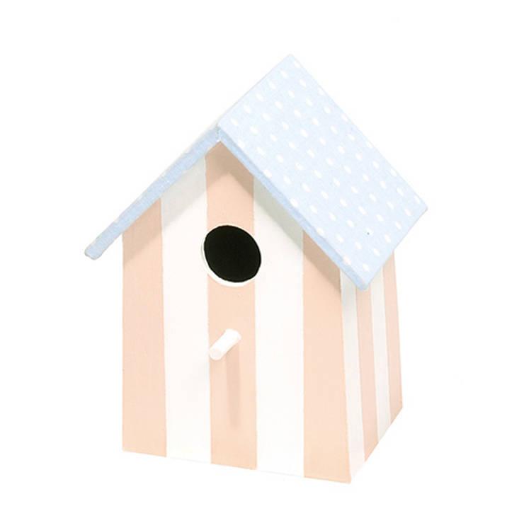 """Lampka nocna domek dla ptaków """"Słodkie sny"""": styl , w kategorii Pokój dziecięcy zaprojektowany przez NOBOBOBO"""