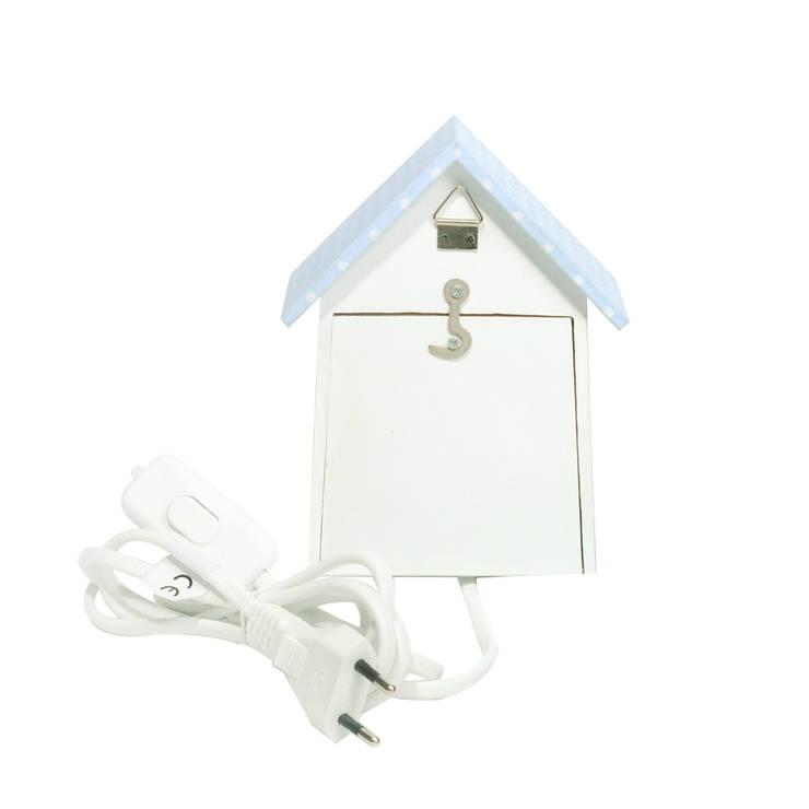 Lampka nocna domek dla ptaków <q>Słodkie sny</q>: styl , w kategorii Pokój dziecięcy zaprojektowany przez NOBOBOBO
