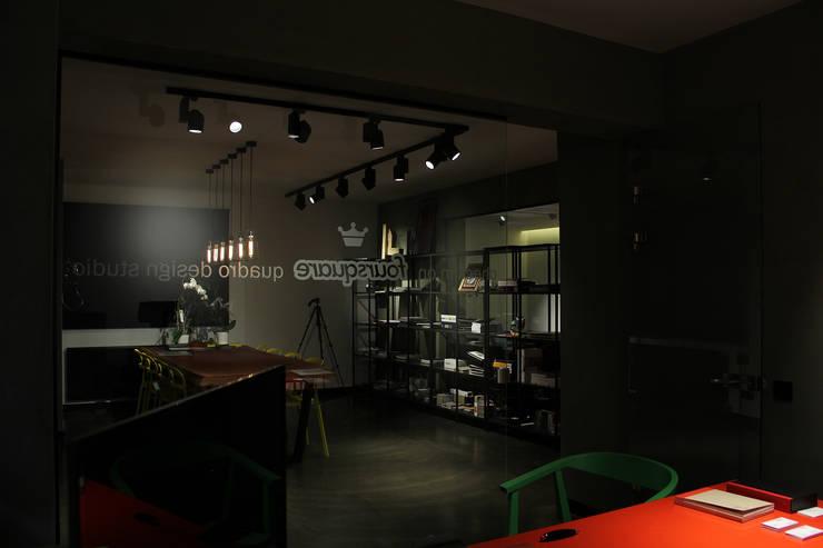 QUADRO DESIGN STUDIO – QUADRO DESIGN STUDIO OFIS:  tarz Ofis Alanları