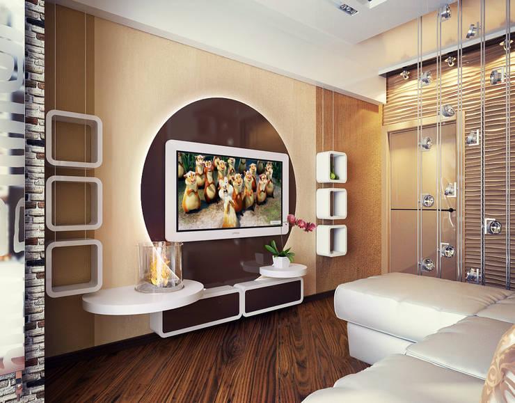 Комната: Гостиная в . Автор – Инна Михайская