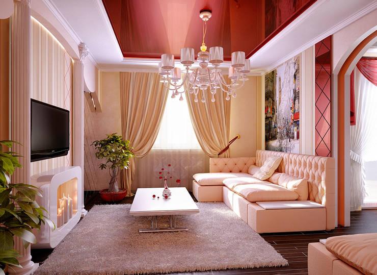 Двухкомнатная квартира. Часть: Гостиная в . Автор – Инна Михайская,