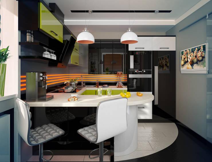 Кухня: Кухни в . Автор – Инна Михайская