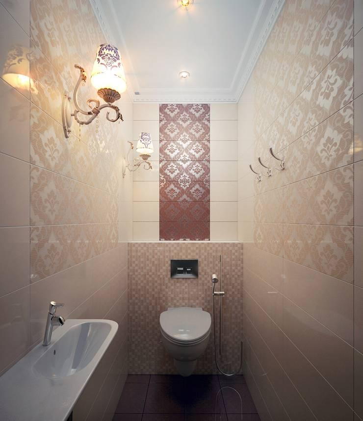 Квартира неоклассика: Ванные комнаты в . Автор – Инна Михайская,