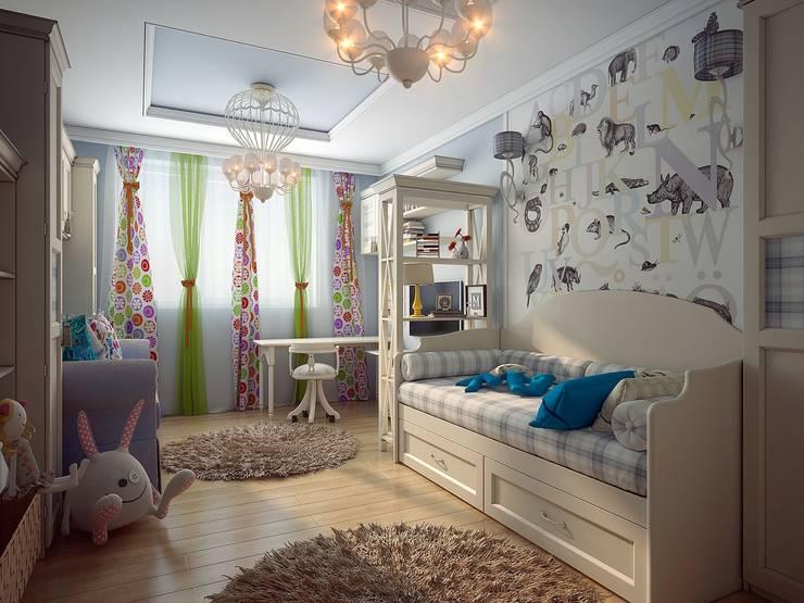 Квартира неоклассика: Детские комнаты в . Автор – Инна Михайская,