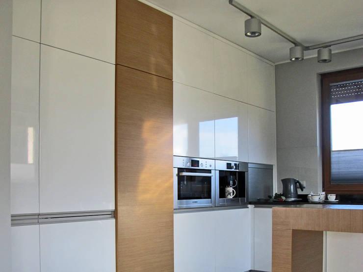 2: styl , w kategorii Kuchnia zaprojektowany przez Projekt Kolektyw Sp. z o.o.,Nowoczesny