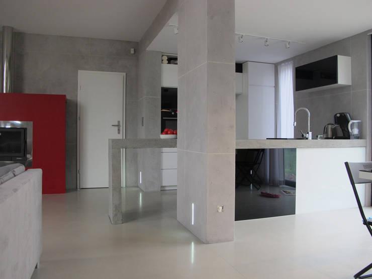 6: styl , w kategorii Kuchnia zaprojektowany przez Projekt Kolektyw Sp. z o.o.