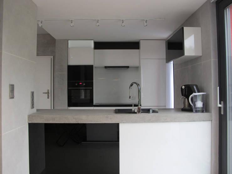 7: styl , w kategorii Kuchnia zaprojektowany przez Projekt Kolektyw Sp. z o.o.