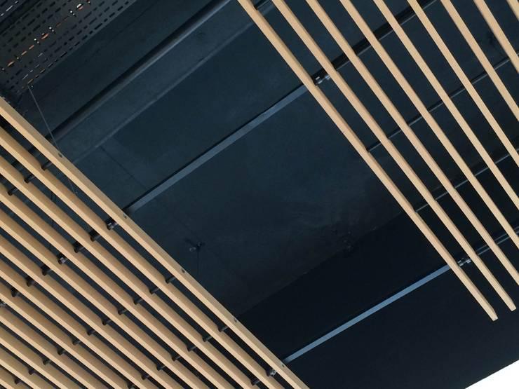 Deckon Asma Tavan Sistemleri – DeckoWood:  tarz Koridor ve Hol