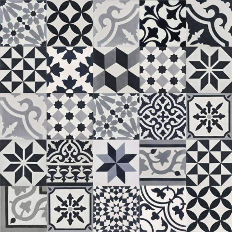 Płytki cementowe PATCHWORK BWG: styl , w kategorii Ściany i podłogi zaprojektowany przez Rogiński Warsztat Artystyczny - DomRustykalny.pl