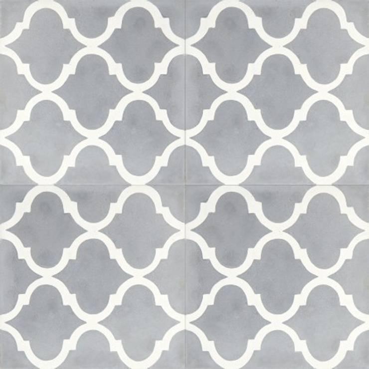 Płytki cementowe nr 2382: styl , w kategorii Ściany i podłogi zaprojektowany przez Rogiński Warsztat Artystyczny - DomRustykalny.pl