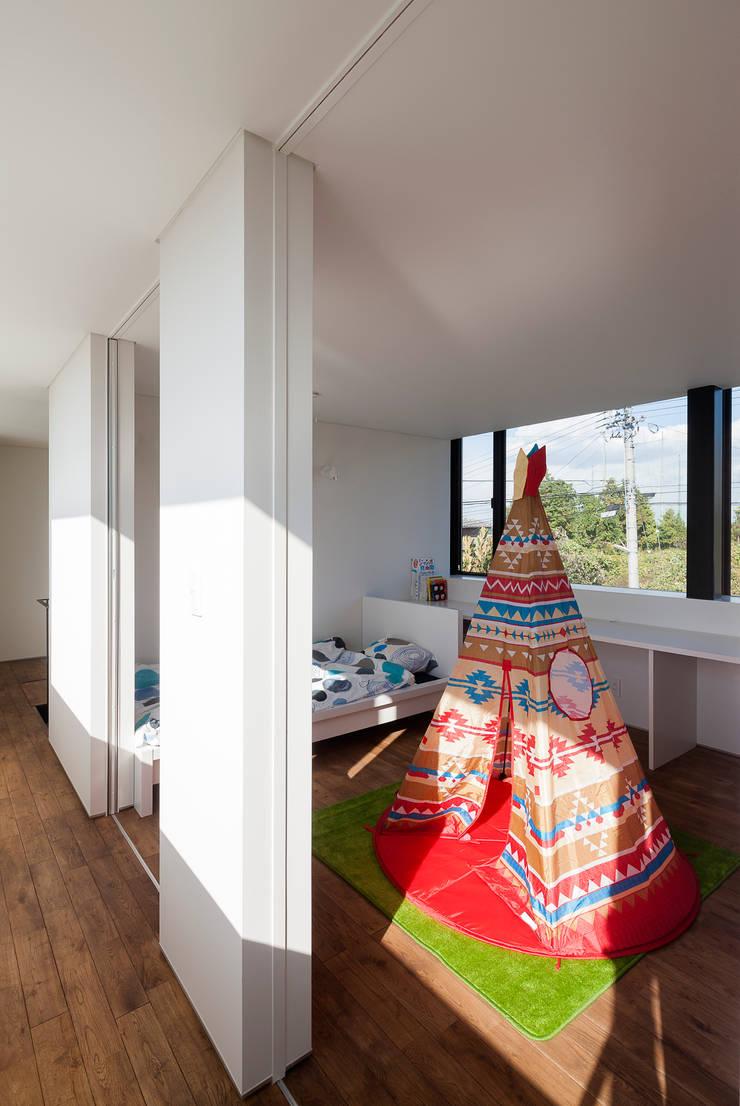 ウキバコ: (株)建築デザイン研究所が手掛けた子供部屋です。
