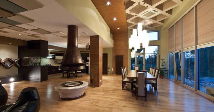 T residence: Гостиная в . Автор – Didenkül+Partners