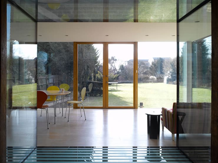 Storey's Way:  Dining room by Hudson Architects
