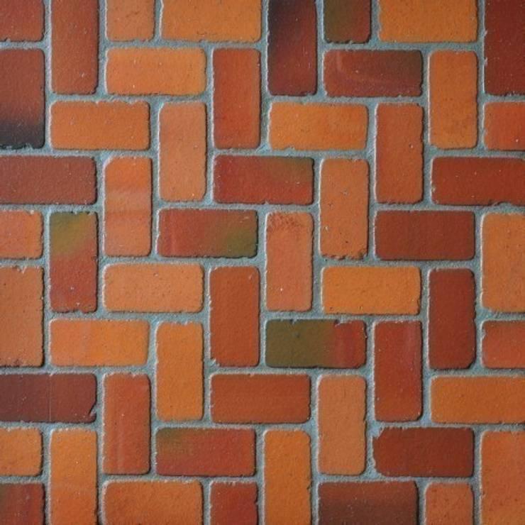 Cegiełka COTTO 10x5 TUMBLED: styl , w kategorii Ściany i podłogi zaprojektowany przez Rogiński Warsztat Artystyczny - DomRustykalny.pl