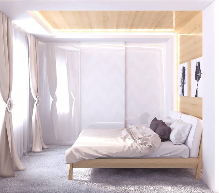 Квартира в Алексине: Спальни в . Автор – Ин-дизайн