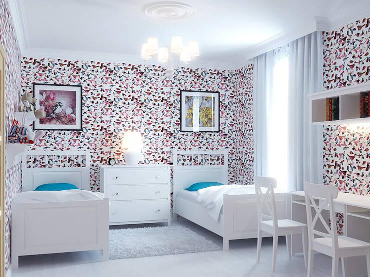 Квартира в Алексине: Детские комнаты в . Автор – Ин-дизайн