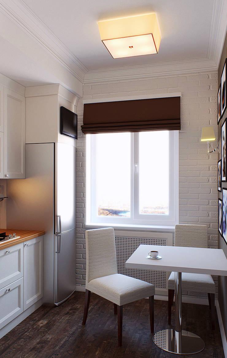 Квартира в Алексине: Кухни в . Автор – Ин-дизайн