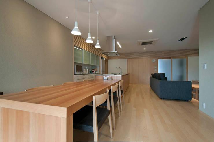 ダイニング: 家山真建築研究室 Makoto Ieyama Architect Officeが手掛けたダイニングです。