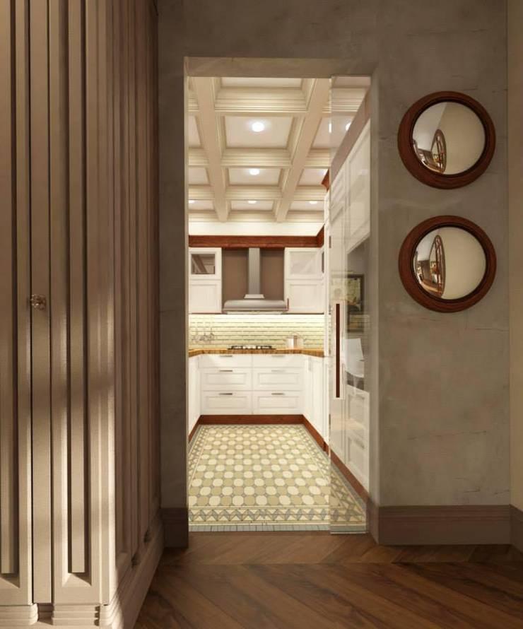 Квартира в ЖК «ЛИТЕРАТОР»: Кухни в . Автор – KOSHKA INTERIORS
