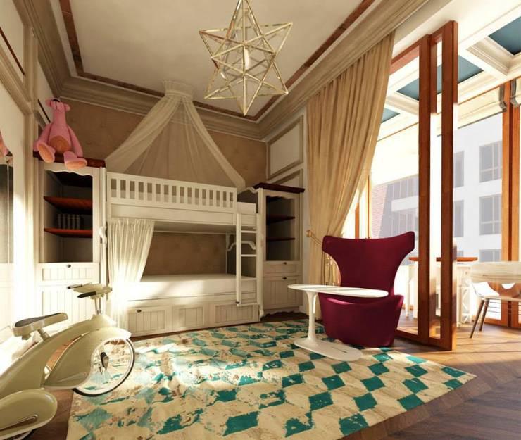 Projekty,  Pokój dziecięcy zaprojektowane przez KOSHKA INTERIORS