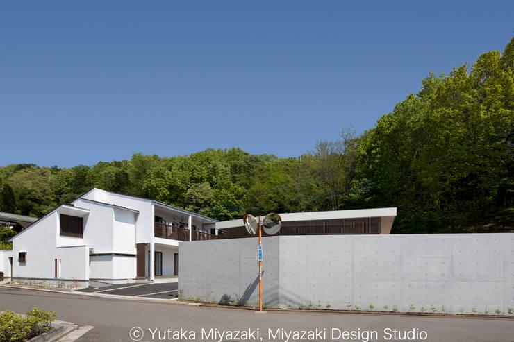 Casas de estilo  por 宮崎豊・MDS建築研究所, Moderno