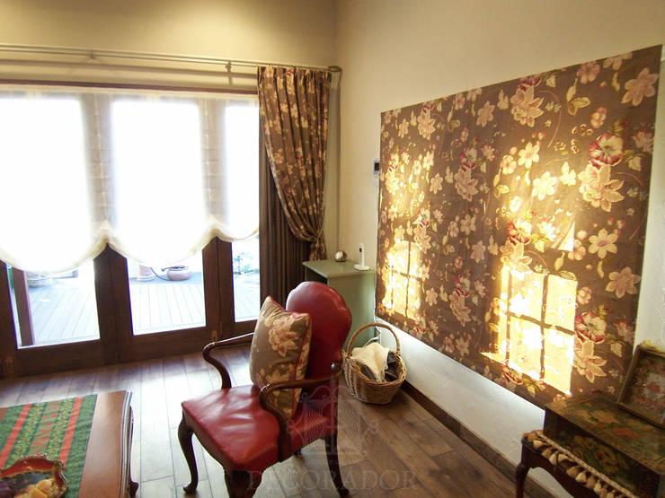 Projekty,  Okna i drzwi zaprojektowane przez DECORADOR デコラドール