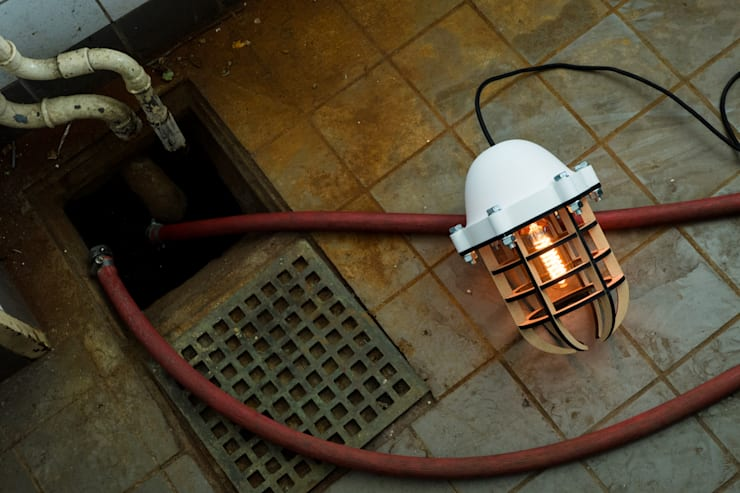Printlamp:  Woonkamer door Weller Design