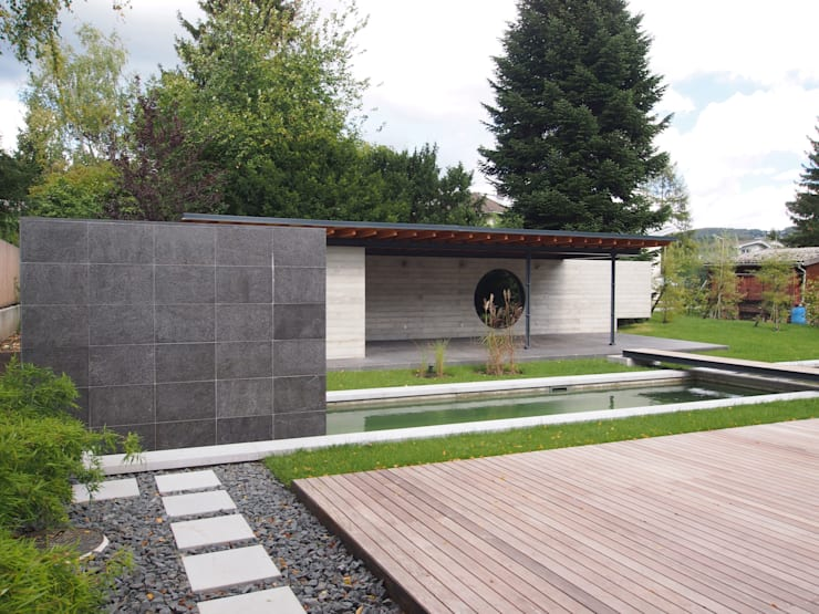 In stappen naar een schitterende minimalistische tuin