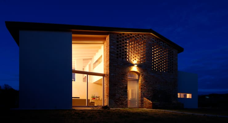 Casa Manfredi _ rapporti diacronici del fabbricato: Case in stile  di LDA.iMdA architetti associati