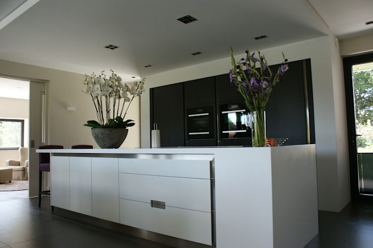 Stienestraat:  Keuken door Harold Laenen Architectuur